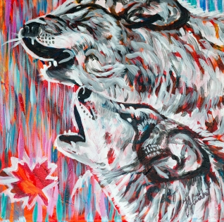 Wolves, Celebrate Canada, Yvette Cuthbert