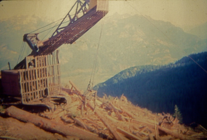 My Dad's grapple, Squamish, BC