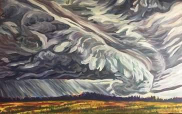 Prairie Hail Cloud